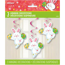 happy easter decorations 26 hanging happy easter bunny decorations 3 count walmart