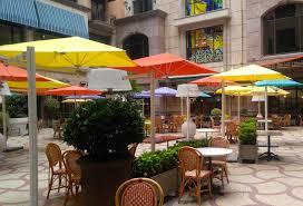 Awning Umbrella Victoria 2 Double Cantilever Umbrella Couture Outdoor