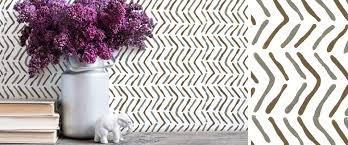 Block Print Wallpaper Modern Handprinted Wallpaper And Bold Graphic Fabric U2013 Sarah