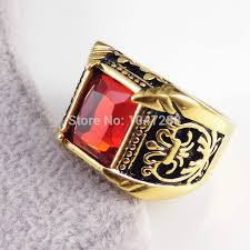 best ring for men men ring best selling gifts 18k gold stainless steel jewelry