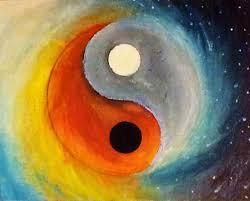 sun an moon yin yang acrylic painting by a rushlow downloadzz on