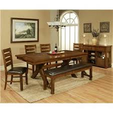 Vineyard Bench Apa By Whalen Vineyard 6 Piece Dining Table Set W Chairs And