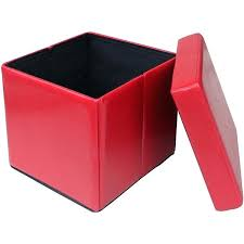 Overstock Ottomans Ottomans Storage Cubes Collapsible Storage Ottoman
