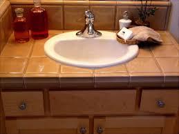 bathroom counter top ideas amazing tile bathroom sink countertop 29 on home design addition