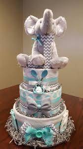 elephant chevron diaper cake it u0027s a boy just as cute as the