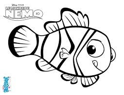 coloriages némo le poisson clown fr hellokids com