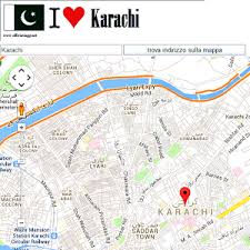 map of karachi karachi map android apps on play