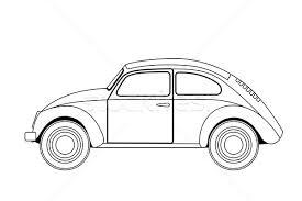 old car sketch vector illustration volodymyr vechirnii
