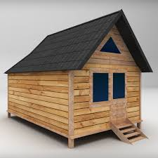 wooden houses pack low poly by kr3atura 3docean