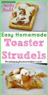 Toaster Strudel Designs Homemade Toaster Strudels U2013 Mrs Happy Homemaker