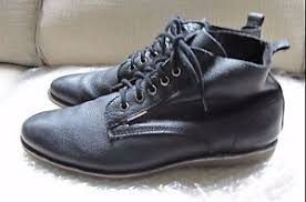 s lace up boots size 9 s frank wright mortimer black leather ankle lace up boots