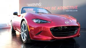 mazda usa headquarters 2016 mazda mx 5 miata debuts in monterey autoweek