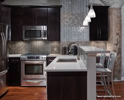 gray kitchen with espresso cabinets kitchen decoration