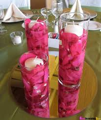 Floating Candle Centerpiece Ideas How To Make A Floating Candle Centerpiece With Flowers Home