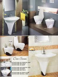 Porcelain Pedestal Sink Pedestal Sinks Porcelain Pedestal Sinks In Designer Colors