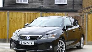 lexus ct200h se i lexus ct200h hybrid se l auto sat nav rear cam bluetooth lm12shx