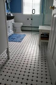Vintage Retro Floor L Retro Black White Bathroom Floor Tile Ideas And Pictures Design 37