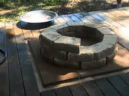 Brick Fire Pits by Brick Fire Pit By G And T Youtube