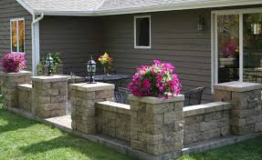 Retaining Wall Patio Design Home Retaining Walls And Other Outdoor Landscaping Projects