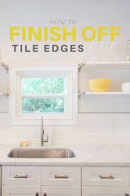 flipper tricks how to finish off tile edges u2014 flippinwendy design