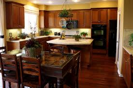 stained kitchen cabinets with hardwood floors 34 kitchens with wood floors pictures home stratosphere