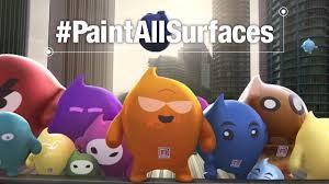 nippon paint blobbies the unpaintable challenge paintallsurfaces