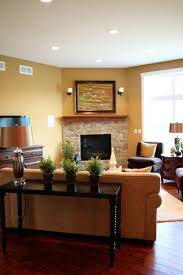 Furniture Placement In Living Room With Corner Fireplace Amazing - Furniture placement living room with corner fireplace