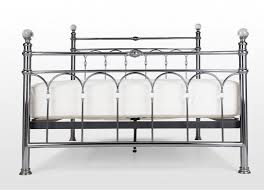 double 4 ft 6 antique metal bed frame krystal