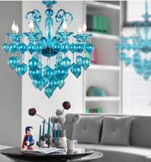 Teal Glass Chandelier Discount Light Blue Murano Glass Chandelier 2017 Light Blue