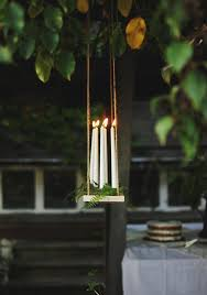 Garden Candle Chandelier Endearing Best 25 Hanging Candle Chandelier Ideas On Pinterest Diy