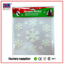 Christmas Window Gel Decorations by Cheap Christmas Jelly Windows Stickers Gel Clings Decal Snowflake