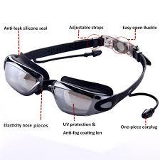 compare prices on nose goggles ear plugs nose clips anti fog silicone straps mirrored swim