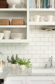 How To Choose The Right Subway Tile Backsplash  Ideas And More - White subway tile backsplash ideas
