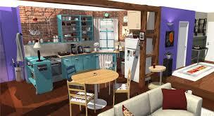 3d cuisine tv apartment in 3d homebyme