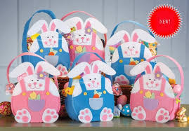 easter bunny gifts 10pcs new easter bunny ear bags rabbit candy bag easter baskets for