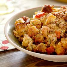 crawfish and andouille cornbread dressing recipe cornbread
