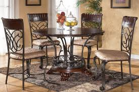 wood and metal dining chairs dining room traditional with neutral