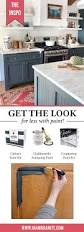 get the look for less with nuvo cabinet paint and giani countertop