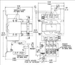 ge cr306d0 nema starter 45 amp 3 pole with an ac coil