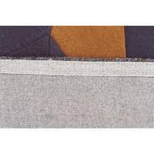Designer Wool Area Rugs Laura Designer Wool Rug Blue Yellow Grey Free Shipping Australia