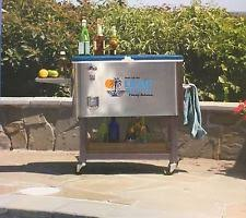 Patio Ice Cooler by Tommy Bahama Cooler 100 Quart Stainless Steel Patio Ice Chest Long