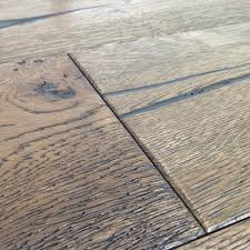 Distressed Engineered Wood Flooring Loire Distressed 20mm Mocha Oak Heavy Brushed Engineered Wood