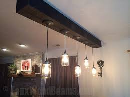 Hanging Light Fixture by Hanging Light Fixtures Faux Wood Workshop