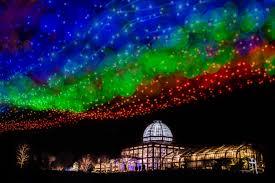 Dominion Lighting Brighten The Night Lewis Ginter Botanical Garden