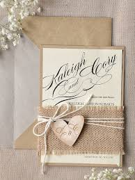 burlap wedding invitations 4lovepolkadots burlap wedding invitationswedding rustic