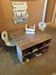 playroom table with storage kids play table desk and chairs pallet desk playrooms and pallets