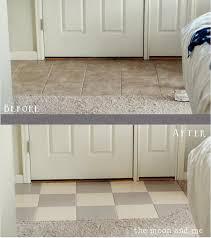 painting ceramic floor tiles in kitchen best kitchen designs