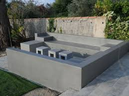 cuisine exterieure beton mobilier extérieur septembre 2012 betons cires