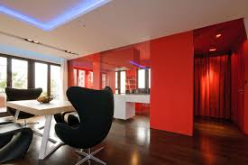 red black and white kitchen ideas modern interior design painted
