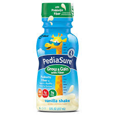 amazon com pediasure nutrition drink with fiber vanilla 8 ounce